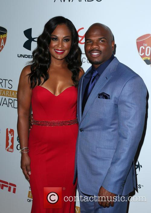 Laila Ali and Curtis Conway 2