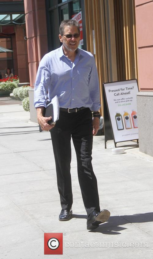 Tim Matheson grabs juice in Beverly Hills