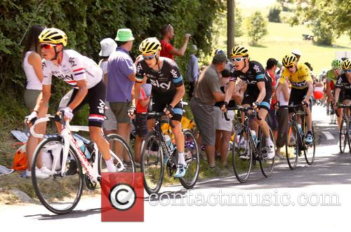 Chris Froome and Richie Porte 8