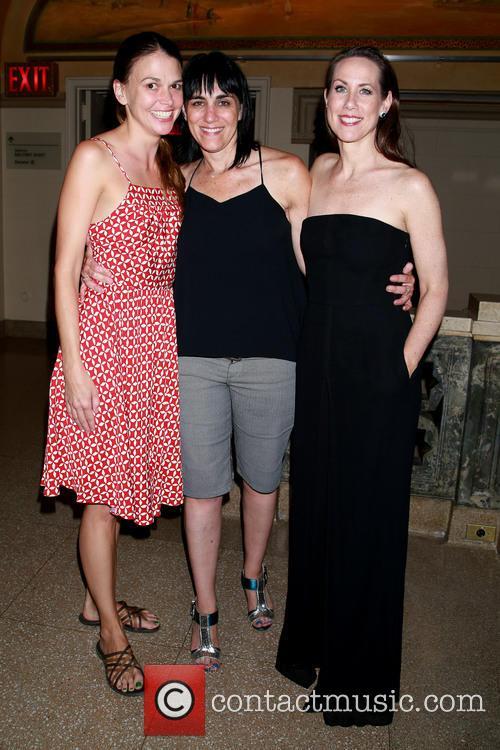 Sutton Foster, Leigh Silverman and Miriam Shor 1