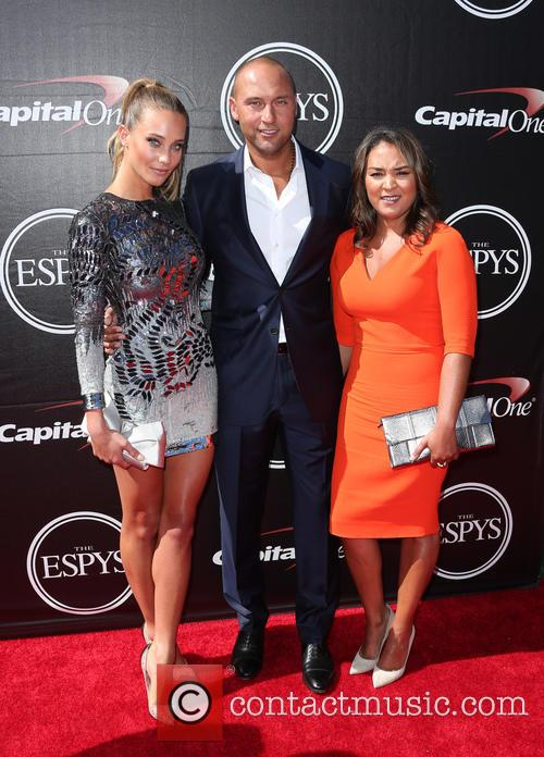Hannah Davis and Derek Jeter 5