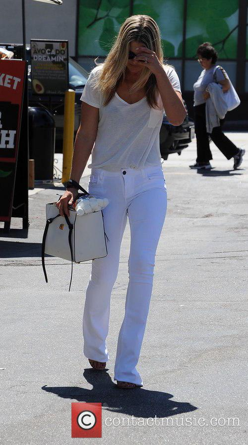 Ali Larter shopping at Fred Segal in Beverly...