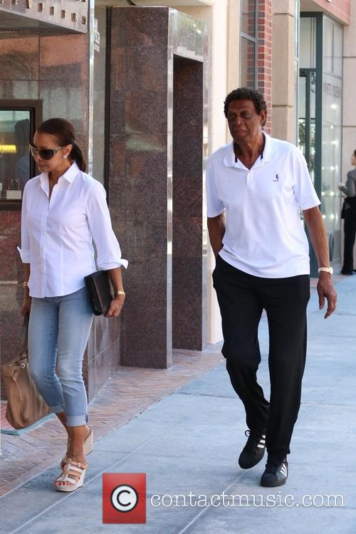 Elgin Baylor out and about in Beverly Hills