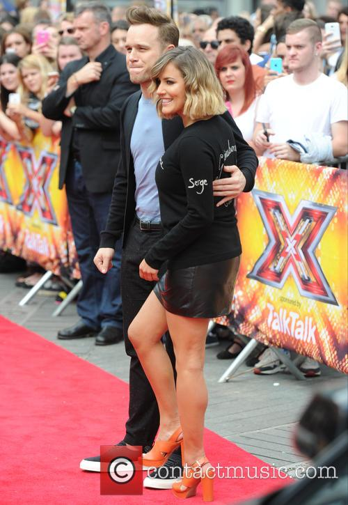 Olly Murs and Caroline Flack 5