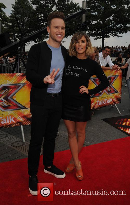 Caroline Flack and Olly Murs 1