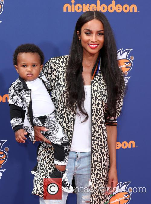Ciara and Future Zahir Wilburn 2