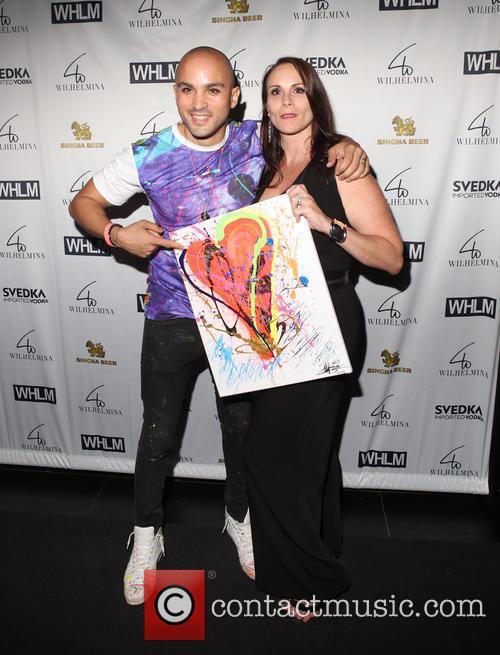 Artist Eddie Bogaert and Melissa Wilhelmina Cooper 4