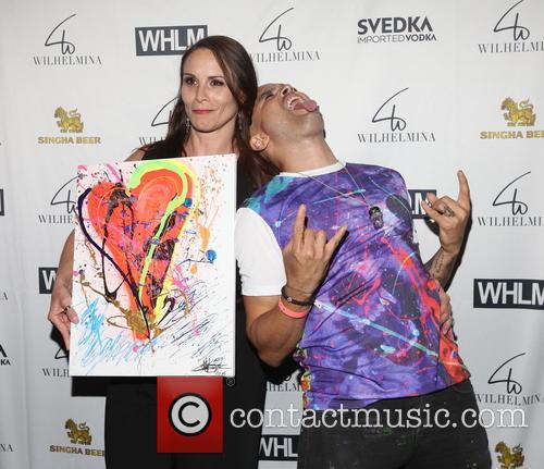 Melissa Wilhelmina Cooper and Artist Eddie Bogaert 4
