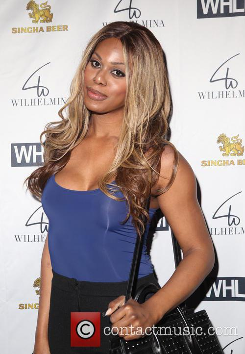 Laverne Cox Shares Pictures From First Meeting (In Person) With Caitlyn Jenner