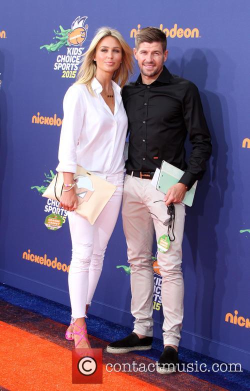 Steven Gerrard and Wife Alex Gerrard 2
