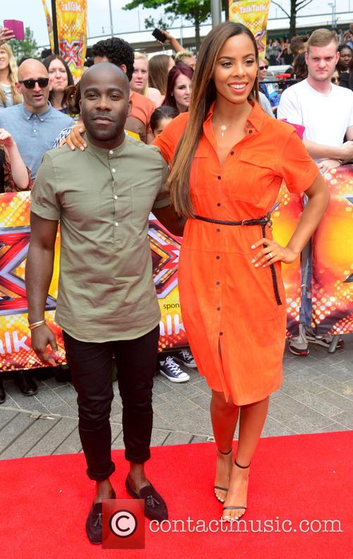 Rochelle Humes and Melvin Odoom 6