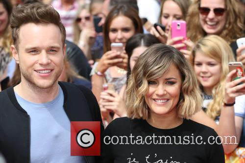 Ollu Murs and Caroline Flack 1