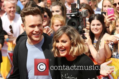 Olly Murs and Caroline Flack 2