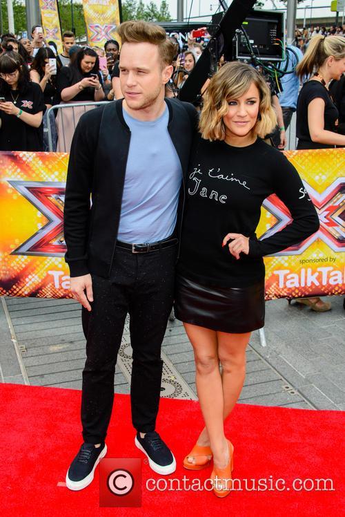 Olly Murs and Caroline Flack 5