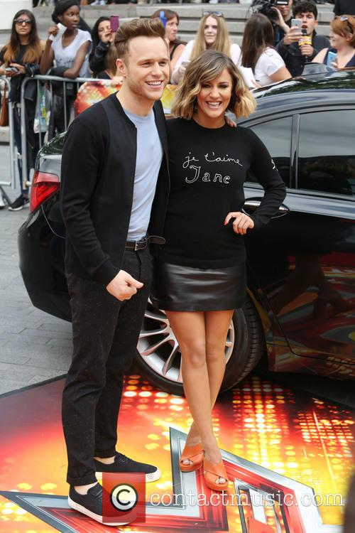 Olly Murrs and Caroline Flack 2
