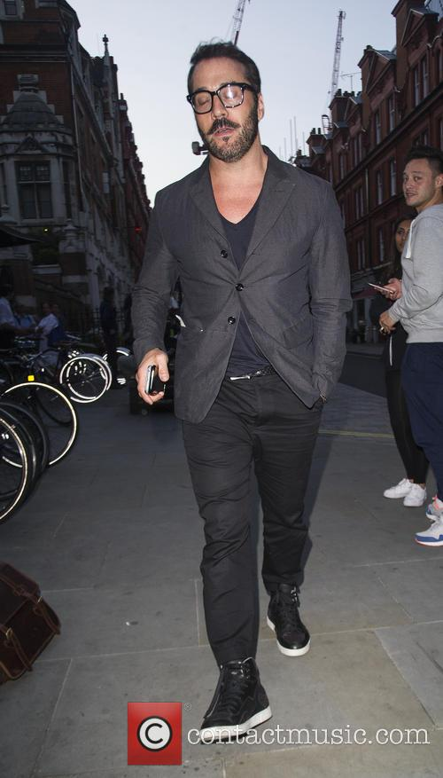 Jeremy Piven at the chiltern firehouse