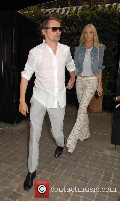 Matt Bellamy and Elle Evans 5