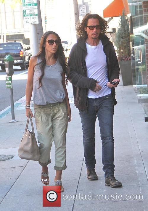 Chris Cornell and Vicky Karayiannis 4