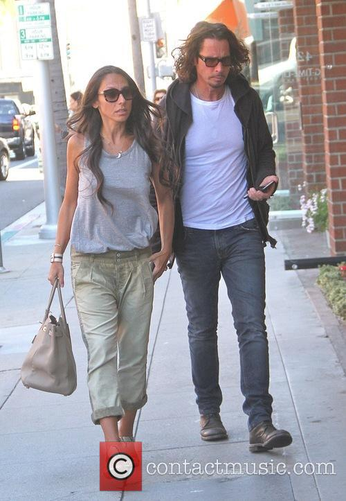Chris Cornell and Vicky Karayiannis 7