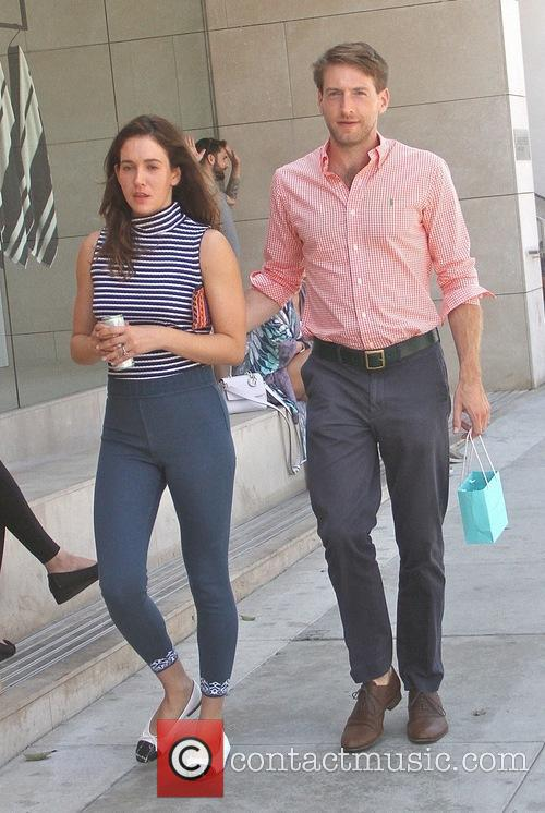 Fran Kranz out shopping with a female companion...