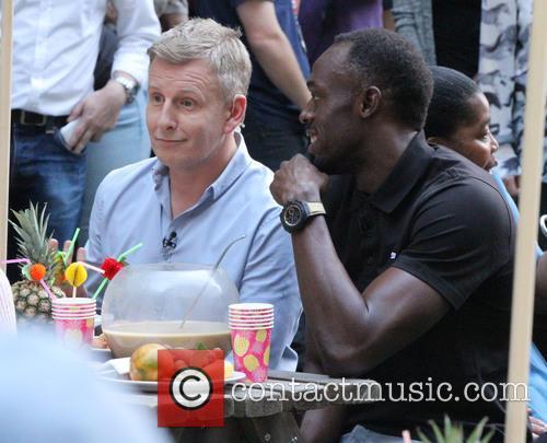 Patrick Kielty and Usain Bolt 2