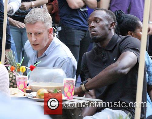 Patrick Kielty and Usain Bolt 3