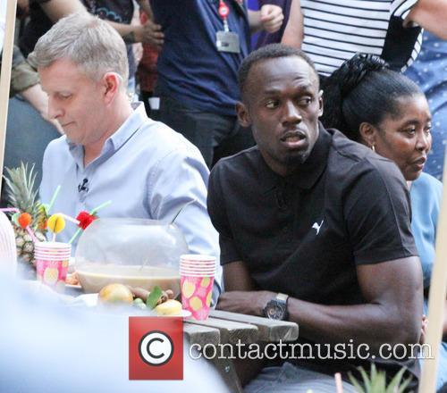 Patrick Kielty and Usain Bolt 4