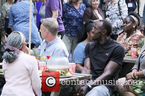 Patrick Kielty and Usain Bolt 5