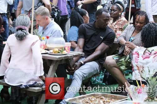 Patrick Kielty and Usain Bolt 6