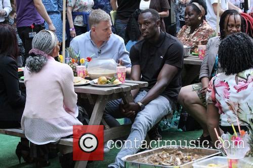 Patrick Kielty and Usain Bolt 7