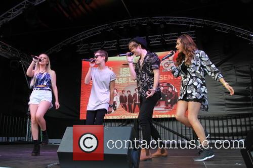 Only The Young, Mikey Bromley, Parisa Tarjomani, Betsy-blue English and Charlie George 9