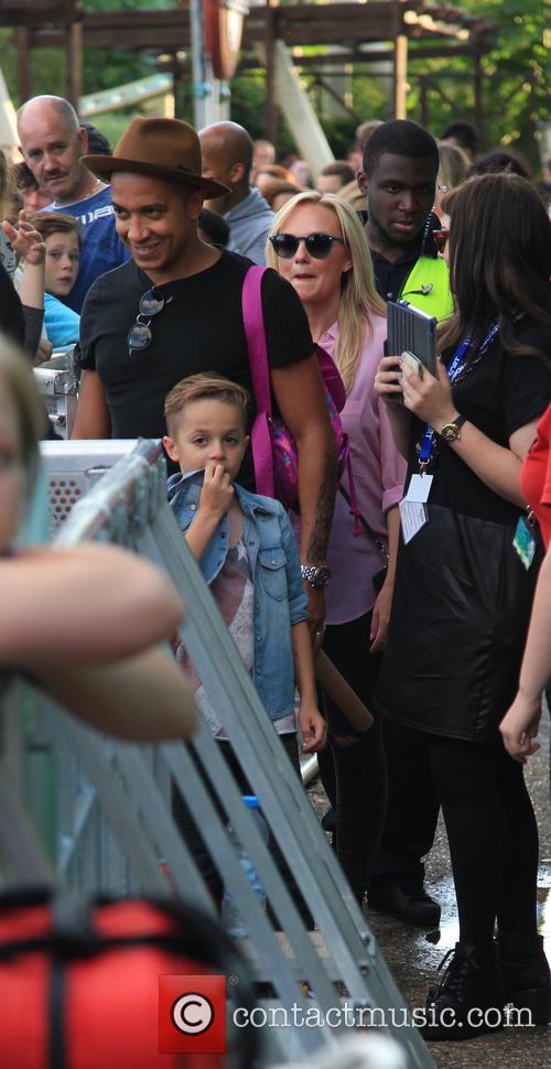 Emma Bunton and Jade Jones 1