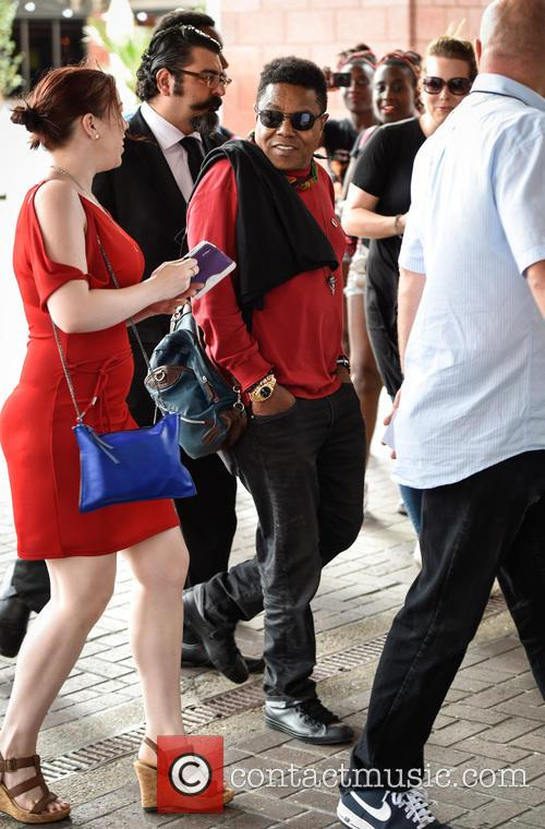 Tito Jackson in London ahead of his first...