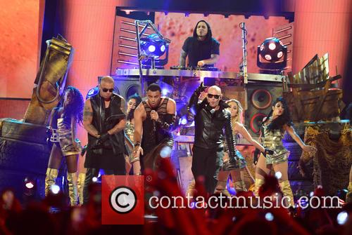 Wisin, Mohombi and Pitbull 2