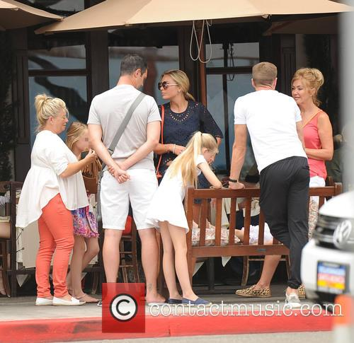 Steven Gerrard and Alex Curran 11