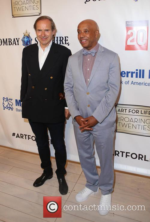 Simon De Pury and Russell Simmons 1
