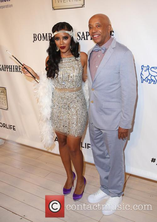 Angela Simmons and Russell Simmons 5