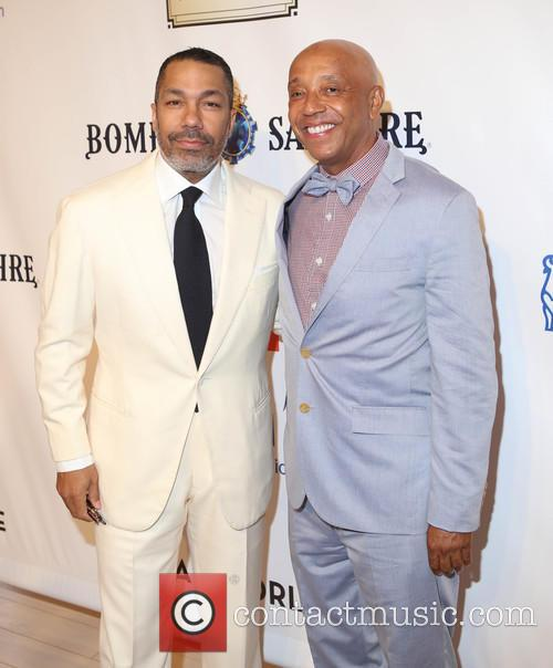 Valentino D. Carlotti and Russell Simmons 6