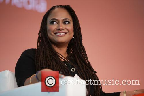 Ava DuVernay speaks during her keynote Q&A at...