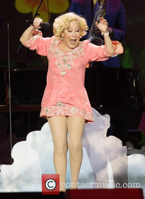 Bette Midler performing live on stage at 02...