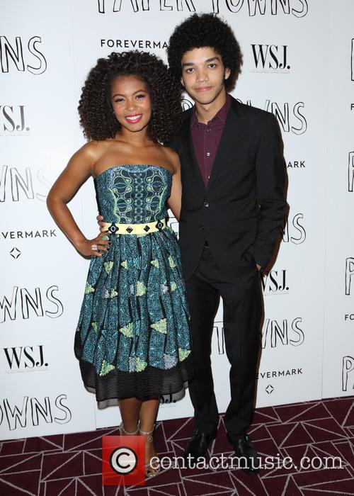 Justice and Jaz Sinclair 2