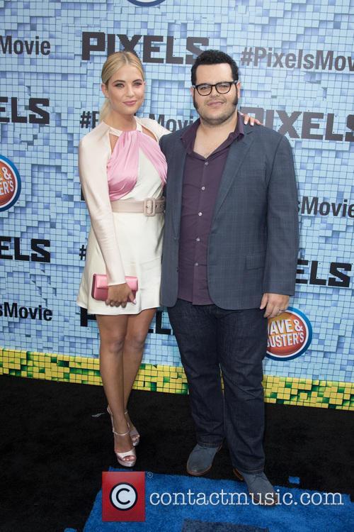 Ashley Benson and Josh Gad 2