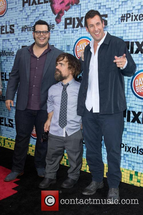 Josh Gad, Peter Dinklage and Adam Sandler 3