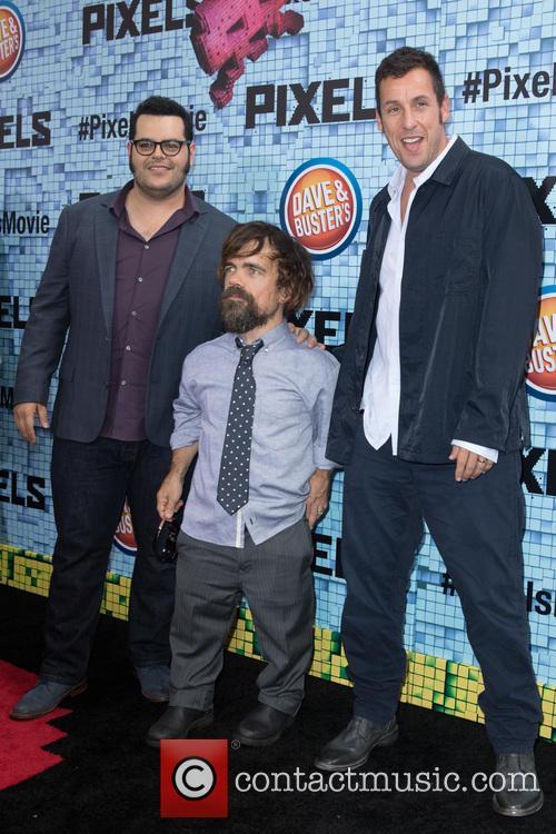 Josh Gad, Peter Dinklage and Adam Sandler 4