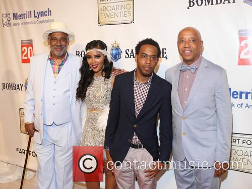 Danny Simmons, Angela Simmons, Jojo and Russell Simmons 2