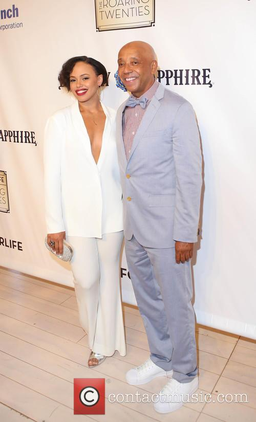 Elle Varner and Russell Simmons 4