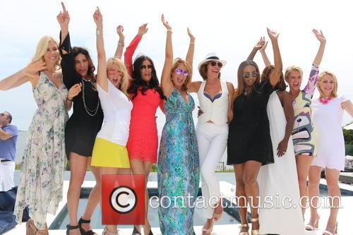 Aviva Drescher, Cindy Barshop, Ramona Singer, Patti Stanger, Jill Zarin, Luann De Lesseps, Cynthia Bailey, Carla Stephens and Dorinda Medley 4