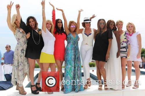 Aviva Drescher, Cindy Barshop, Ramona Singer, Patti Stanger, Jill Zarin, Luann De Lesseps, Cynthia Bailey, Carla Stephens and Dorinda Medley 5