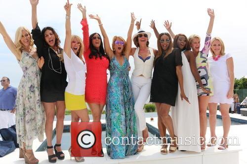 Aviva Drescher, Cindy Barshop, Ramona Singer, Patti Stanger, Jill Zarin, Luann De Lesseps, Cynthia Bailey, Carla Stephens and Dorinda Medley 1