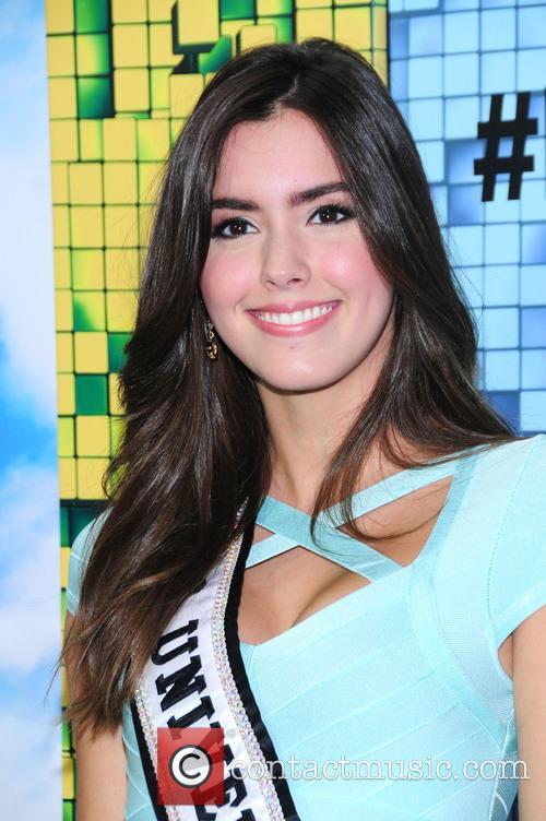 Paulina Vega Miss Universe 1